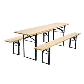 Pivní souprava - 1 stůl + 2 lavice