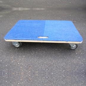 Plošinový vozík bez madla
