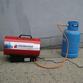 Plynové teplovzdušné topidlo