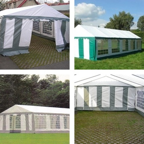 Zahradní stan - 5 x 8 m - LUX
