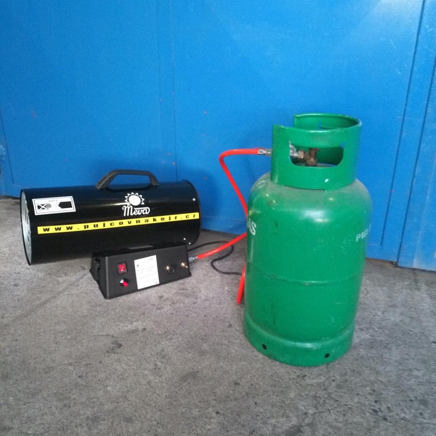 Plynové teplovzdušné topidlo 30kW
